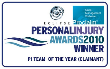 Eclipse Personal Injury Awards 2010