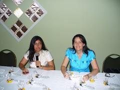 Con la poetisa amiga Yajaira Pinilla
