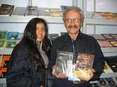 Con el escritor y amigo Milciades Arèvalo