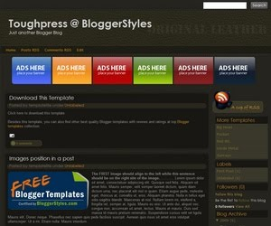 Toughpress-v113 Blogger Template