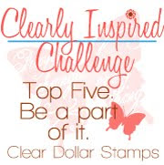 I made the Top 5 at Clearly iStamp!