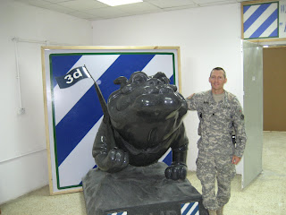 3rd Infantry Rock of the Marne Bulldog mascot