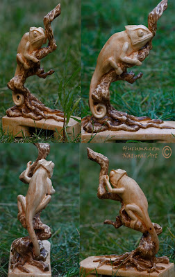 escultura-camaleon-madera