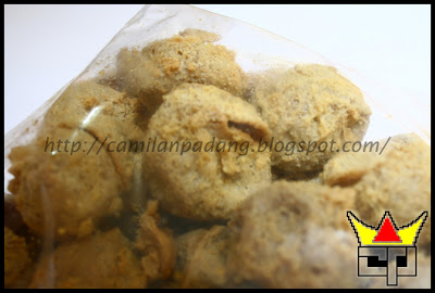 Camilan Padang KRUPUK TAHU (Close Up)