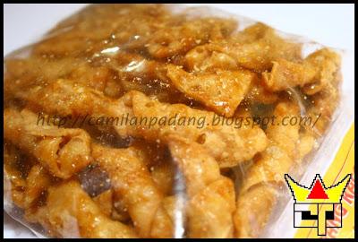 Camilan Padang KUE KERANG KACANG (Close Up)
