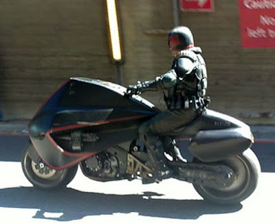 Judge Dredd - Motorcycle