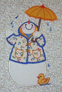 April Snowman