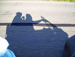 Shadows always seem intriquing as a fleeting two dimensional representation of the 3-D world.