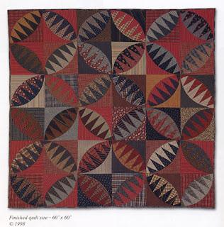 Karen Stone's Rattlesnake Quilt pattern.