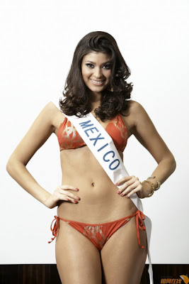 Miss International 2009 - Miss Mexico Anagabriela Espinoza