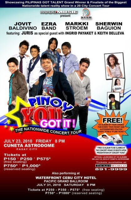 Jovit Baldivino | PINOY YOU GOT IT! : The Nationwide Concert Tour