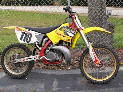 2003 250 suzuki 2 stroke dirt