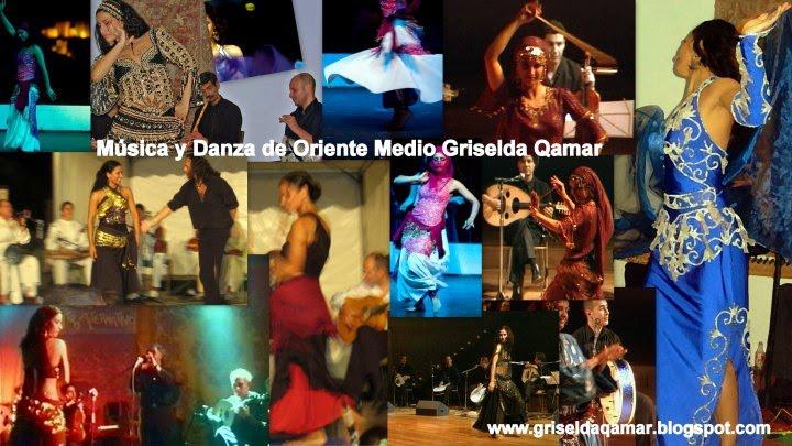 Música y Danza. Repertorio de Oriente Medio, al Ándalus y el Magrib. Danza al Raqs al Sharqi