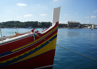 Maltese fishing boat (onemorehandbag)