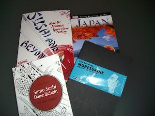reading up on Japan (onemorehandbag)