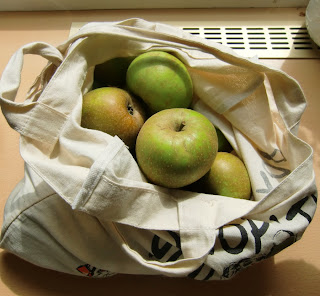 Amica's apples (onemorehandbag)