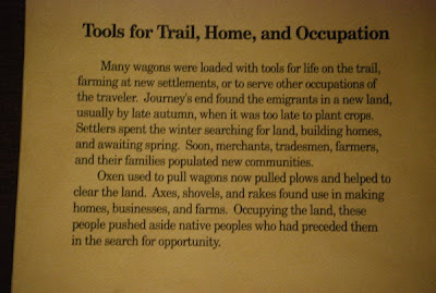 Tools for Trail, Home, and Occupation - Exhibit Narrative, May 28th, 2010 Autry Museum Of Western Art, Los Angeles, CA