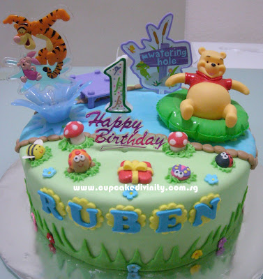 Birthday Cake Designs Winnie The Pooh Pictures