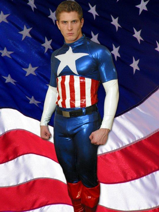 Captain America hunky pics