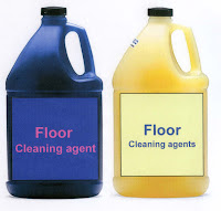 list of cleaning agents used in housekeeping