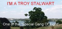 Many thanks, Troy, it&#39;s great to be part of your special gang of eight!