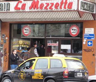 la mezzetta, buenos aires pizza, fugazzetta
