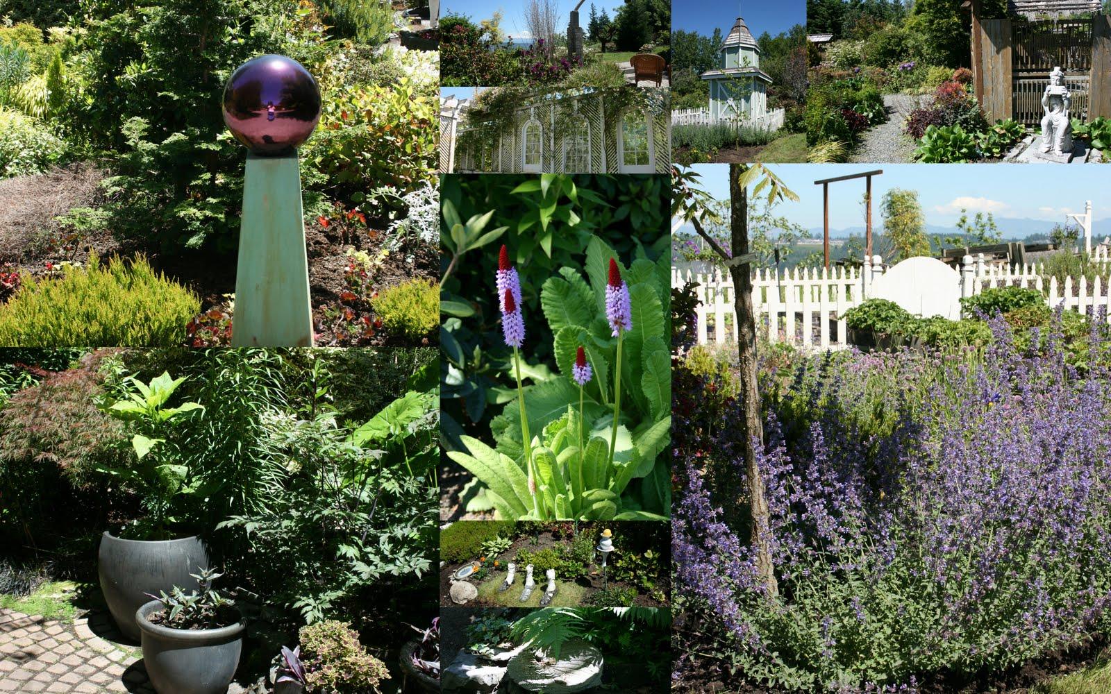 Kitchen Bouquet Mosaic Monday The Garden Conservancy Open Days