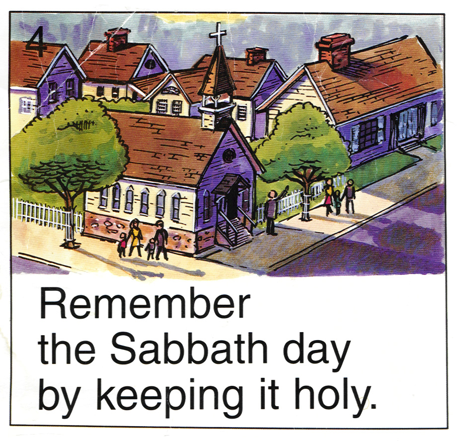 Remember the Sabbath day by keeping it holy. - Exodus 20:8