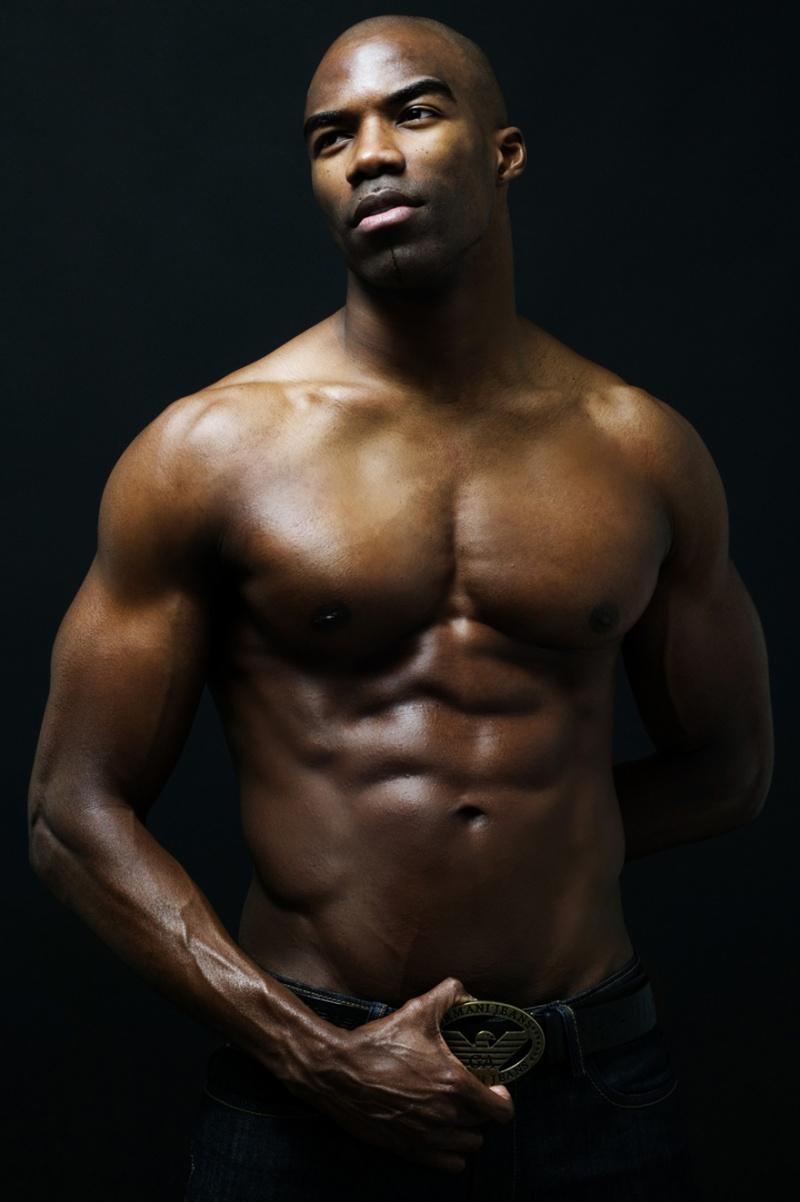 Hot Dark Black Men