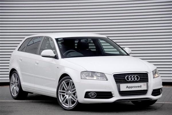 audi a3 sportback s line 2009. Audi A3 Sportback White
