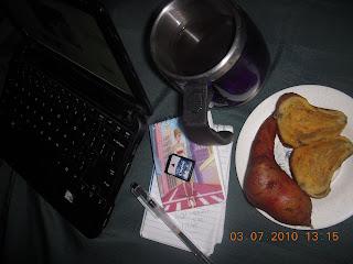 sweet potato, healthy lunch
