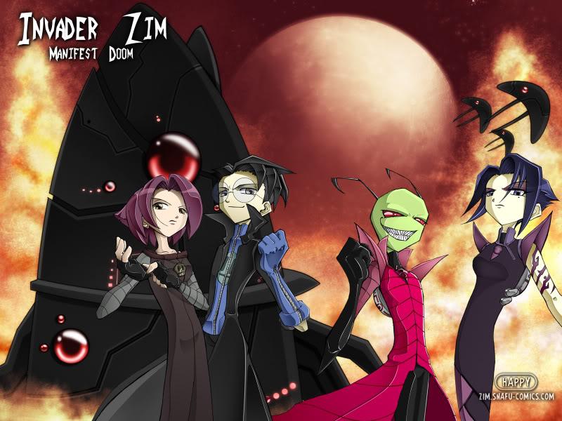 Invader Zim: Manifest Doom Completo + Extras Zim%2Banime