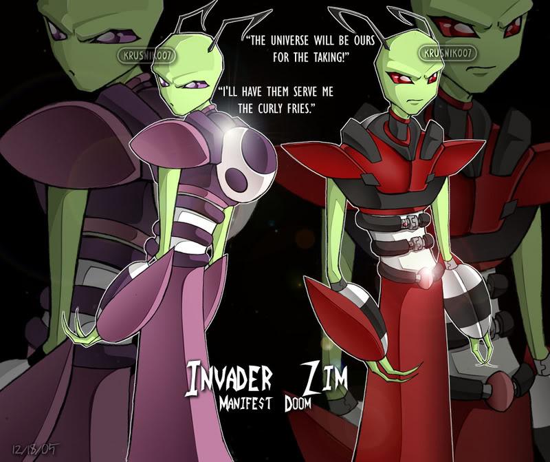 Invader Zim: Manifest Doom Completo + Extras Invader_Zim___Tallests_Pwnz__by_Kru