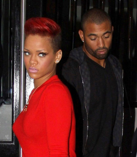 rihanna pics with red hair. rihanna red hair.
