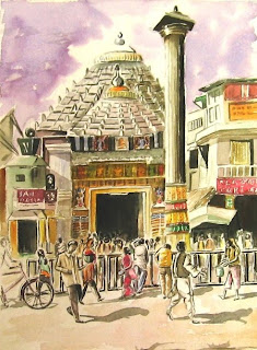 Jagannath temple at Puri