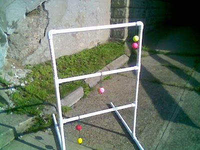 Ladder Golf goal setup instructions