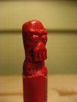 dr zoidberg crayon sculpure