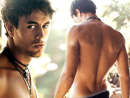 I love getting naked. Enrique Iglesias