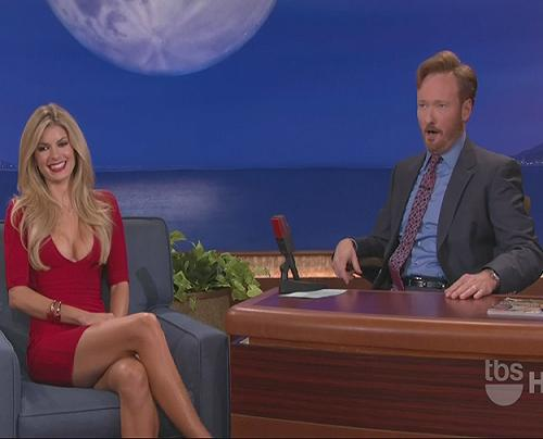 ... Marisa Miller, made her second appearance on the Conan O'Brien show and ...