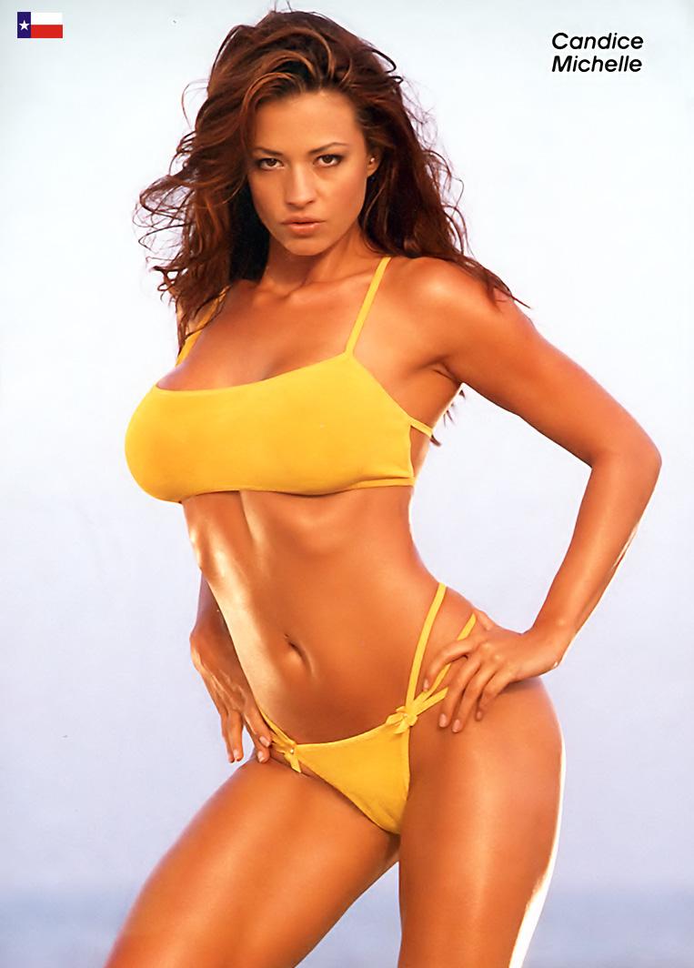 Candice michelle army bikini