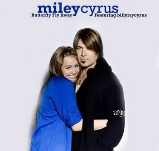 Miley Cyrus Butterfly on Butterfly Fly Away Miley Cyrus With Father Jpg