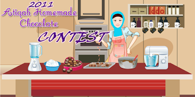Atiqah Homemade Chocolate Contest