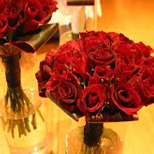 Red Rose Wedding Flower