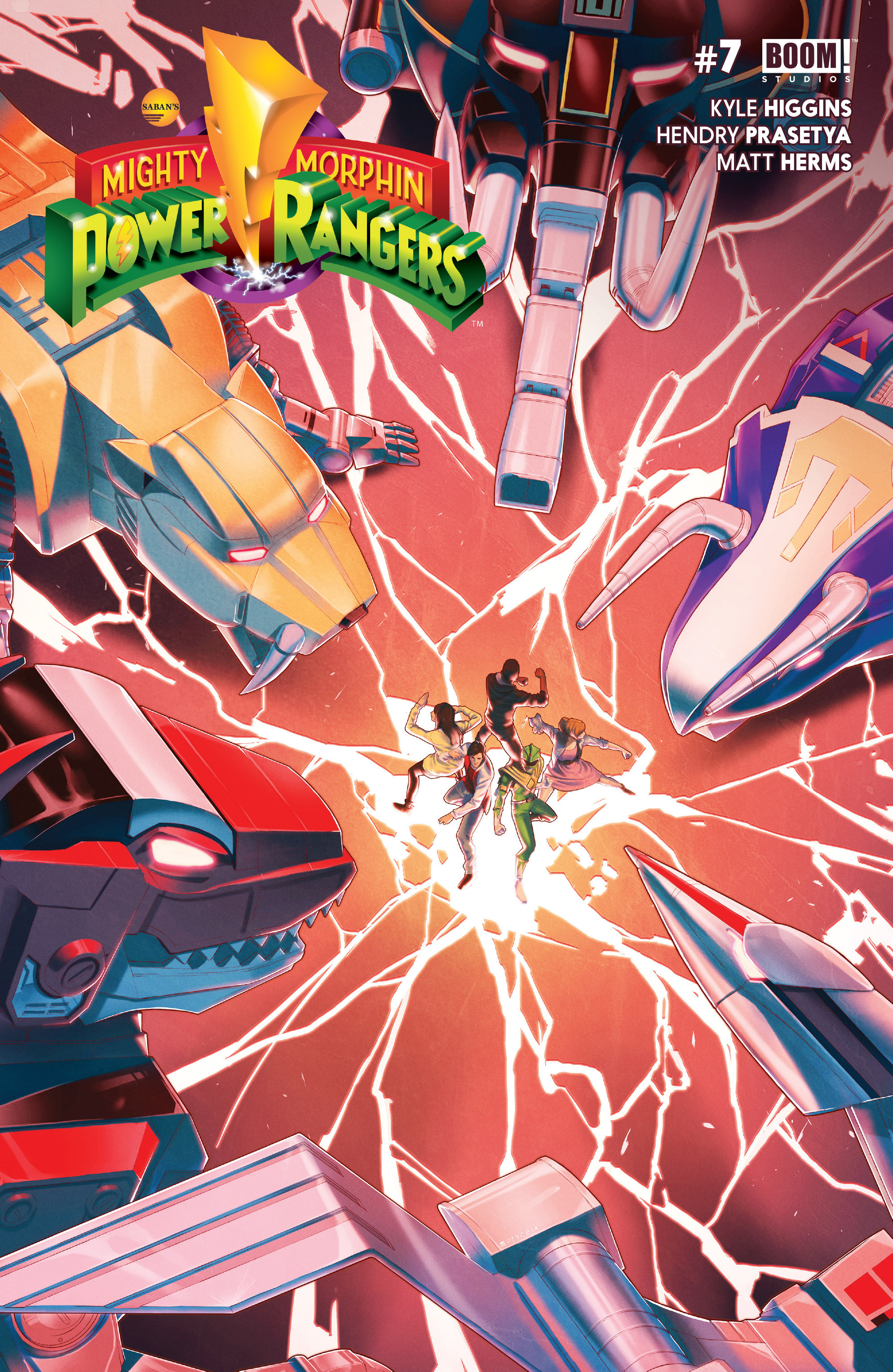Read online Mighty Morphin Power Rangers comic -  Issue #7 - 1
