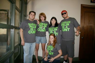 WOW Staffers Also Wear Sarah Palin C-Word T-Shirts