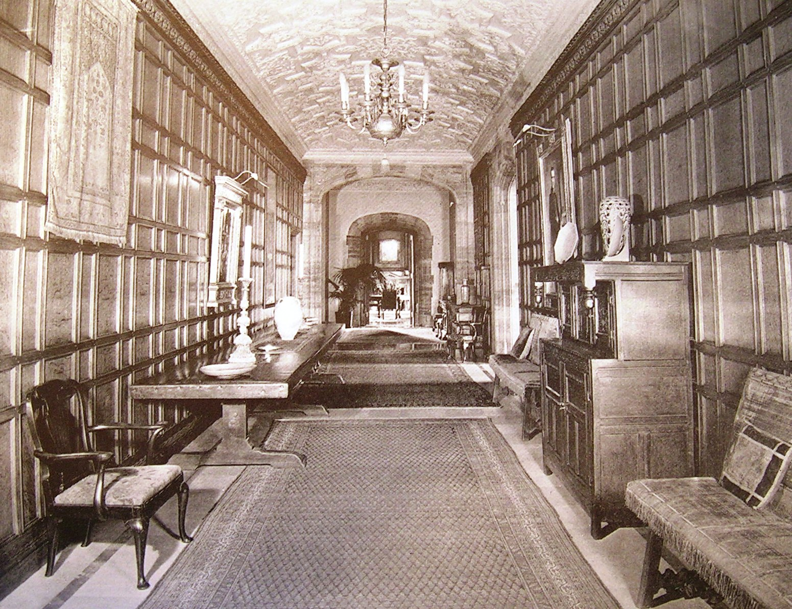 Long Foyer Age : Mansions of the gilded age estate nicholas brady