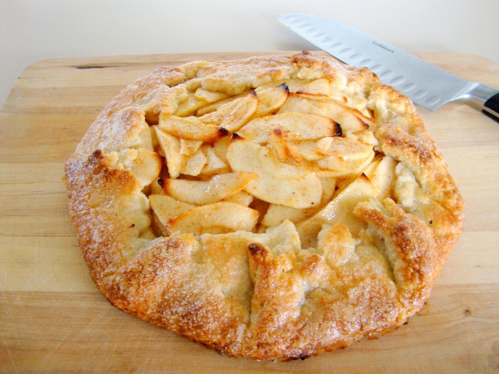 Apple Crostata Recipe — Dishmaps