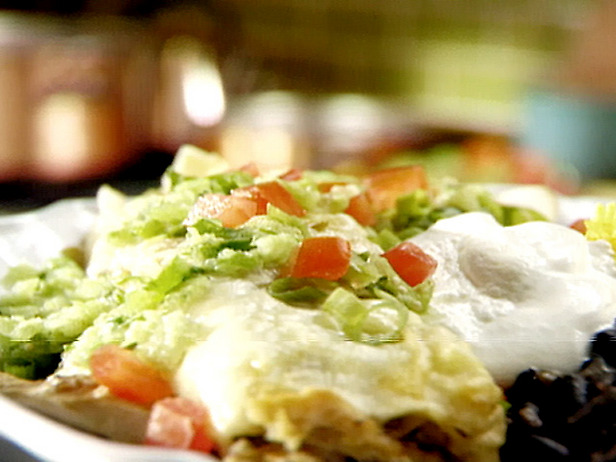 ... : Restaurant quality green chicken enchiladas (with minimal effort