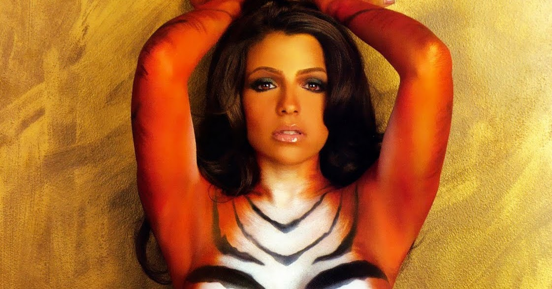 Opinion vida guerra tiger body paint consider, that