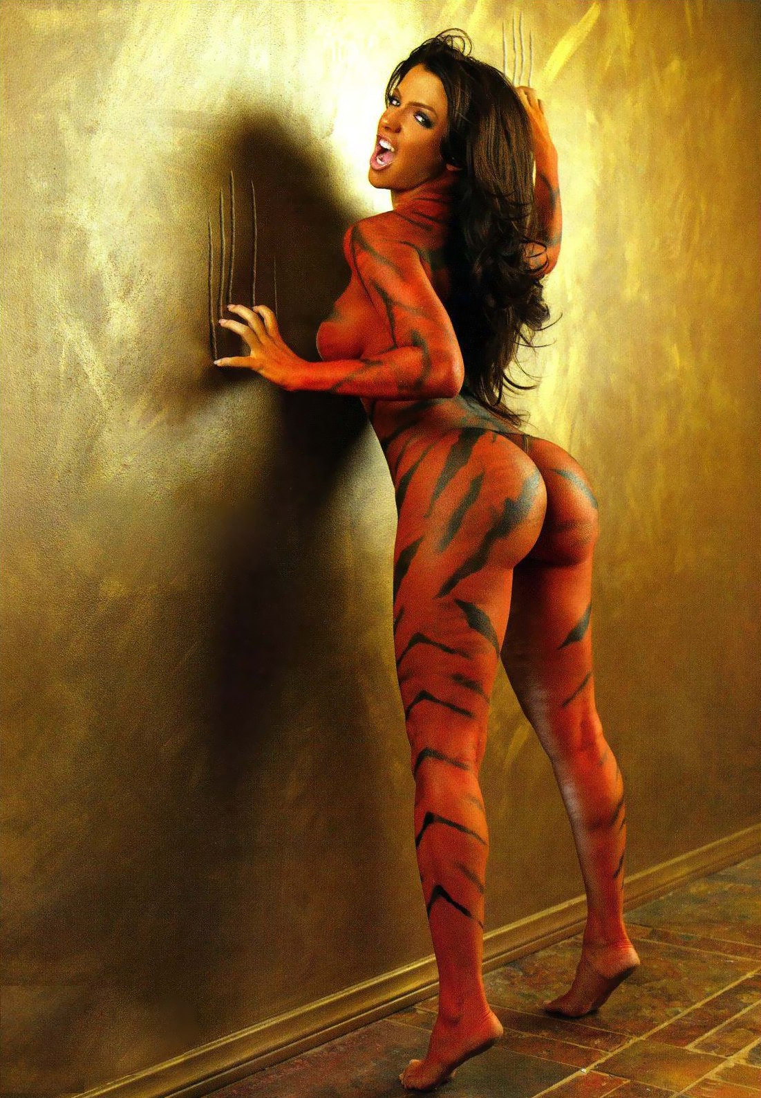 Recommend vida guerra tiger body paint are similar